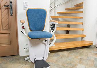 階段昇降機 いす式タイプ