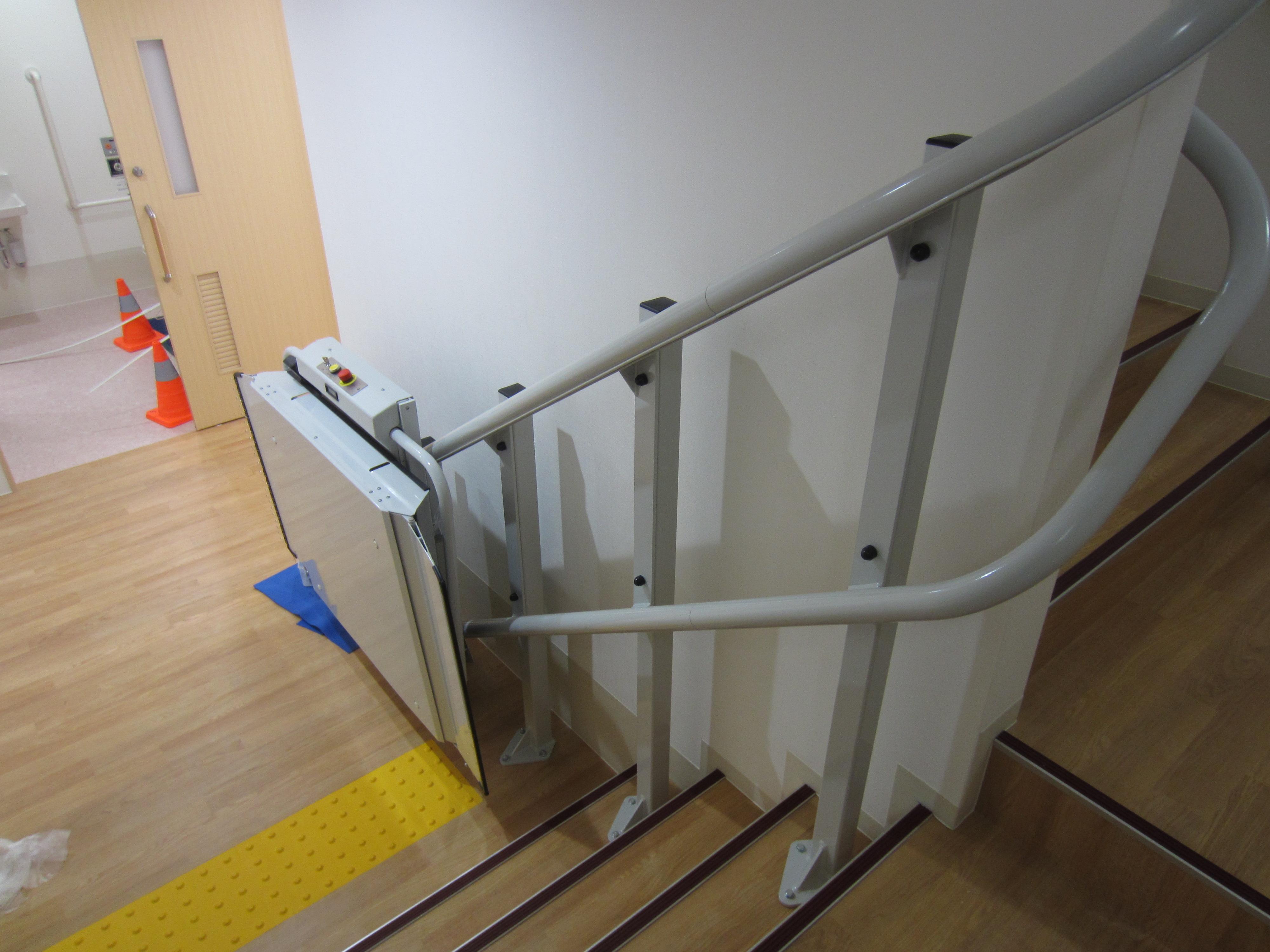 神奈川県S施設様 車いすタイプ階段昇降機